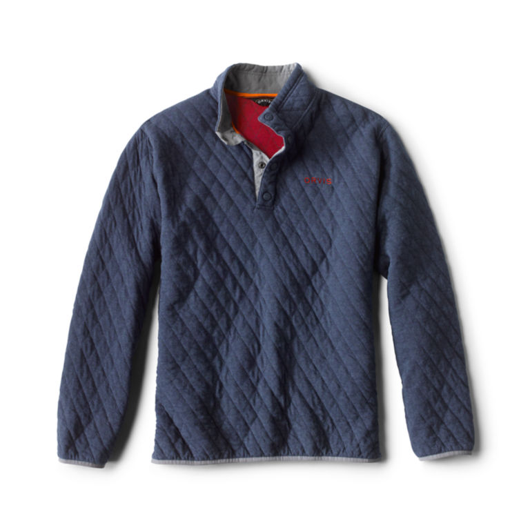 Outdoor Quilted Snap Sweatshirt -  image number 0