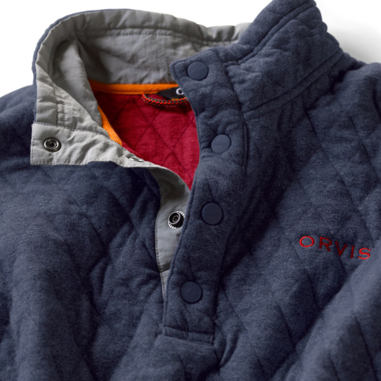 Outdoor Quilted Snap Sweatshirt -  image number 4