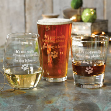 It's Not Drinking Alone Glasses -
