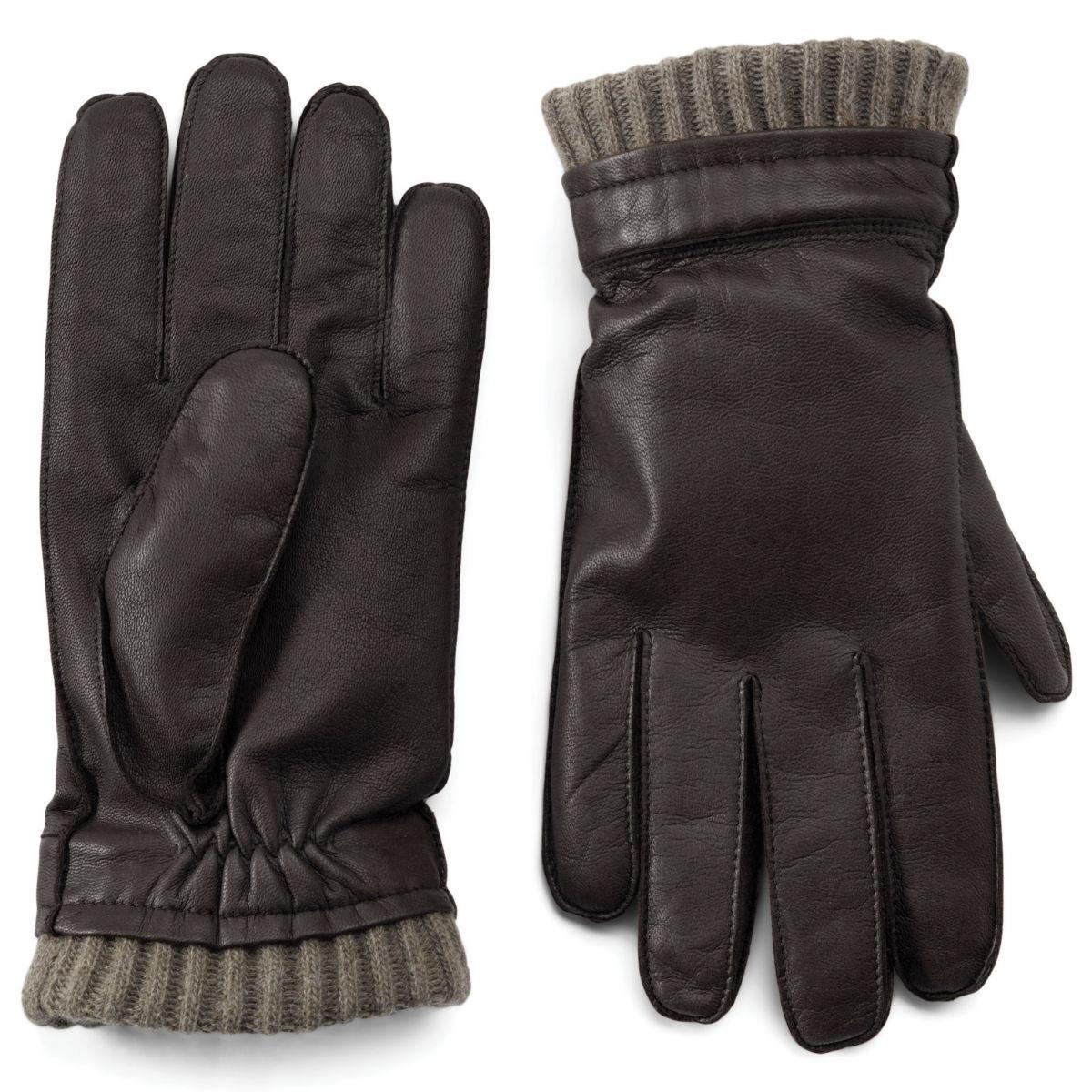 Dorset Goatskin-and-Cashmere Gloves - image number 0