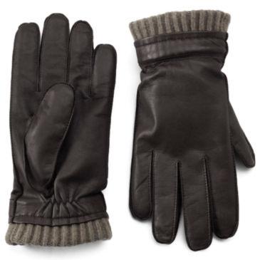 Dorset Goatskin-and-Cashmere Gloves -