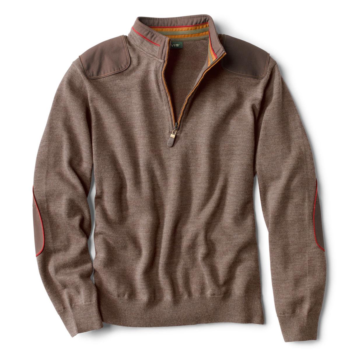 Merino Upton Quarter-Zip Sweater - image number 0