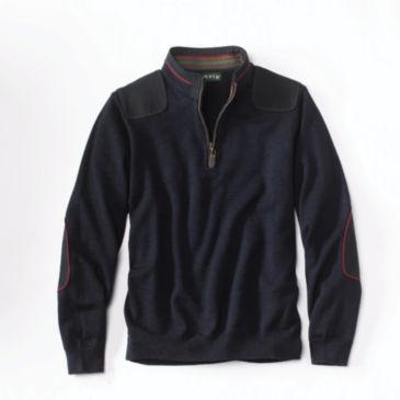 Merino Upton Quarter-Zip Sweater -