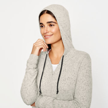 Cashmere Hooded Sweater - image number 3