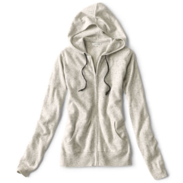 Cashmere Hooded Sweater -  image number 4