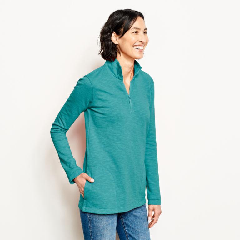 Sunwashed Quarter-Zip Sweatshirt -  image number 1