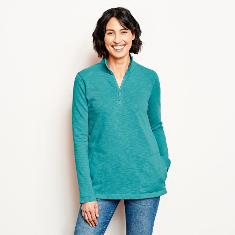 Sunwashed Quarter-Zip Sweatshirt -  image number 0