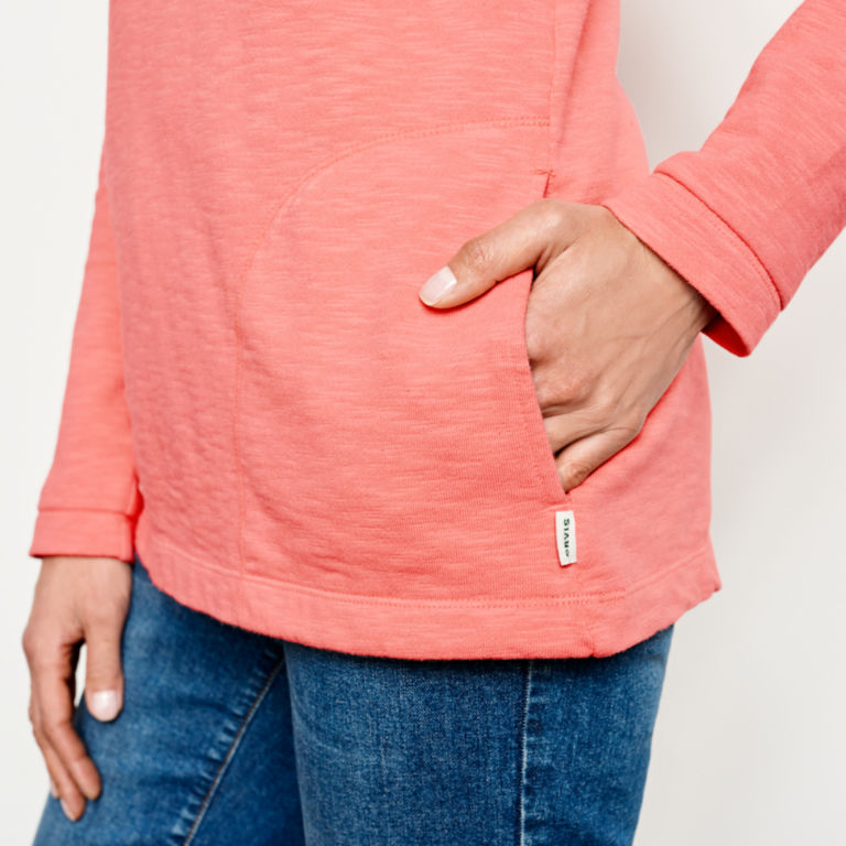 Sunwashed Quarter-Zip Sweatshirt -  image number 4