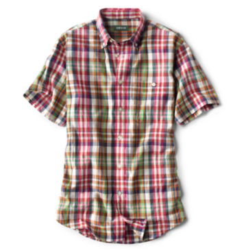 Signature Madras Short-Sleeved Shirt -