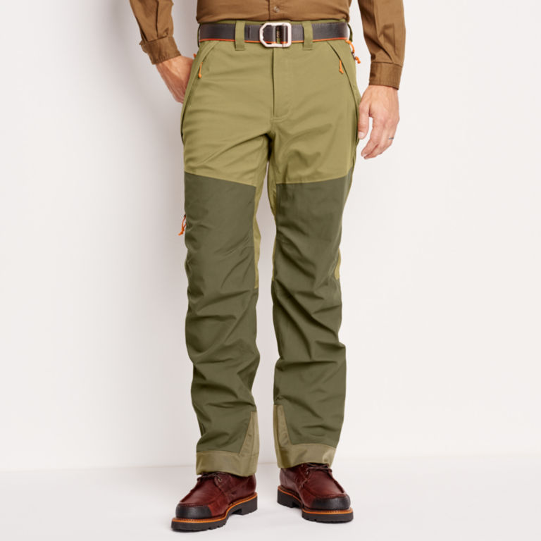 ToughShell Waterproof Upland Pants - OLIVE image number 1