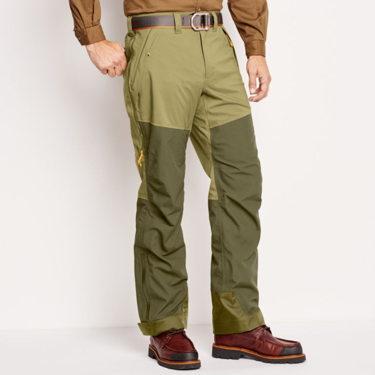 ToughShell Waterproof Upland Pants - OLIVE image number 2
