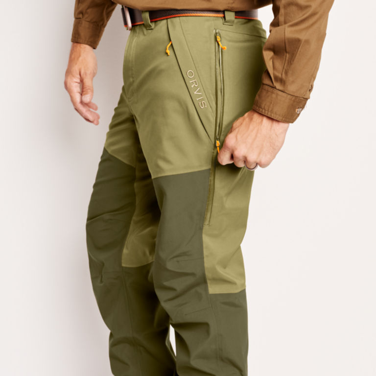 ToughShell Waterproof Upland Pants - OLIVE image number 5