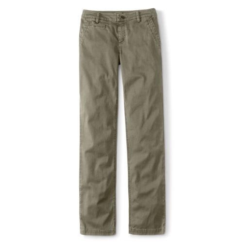 A pair of khaki pants