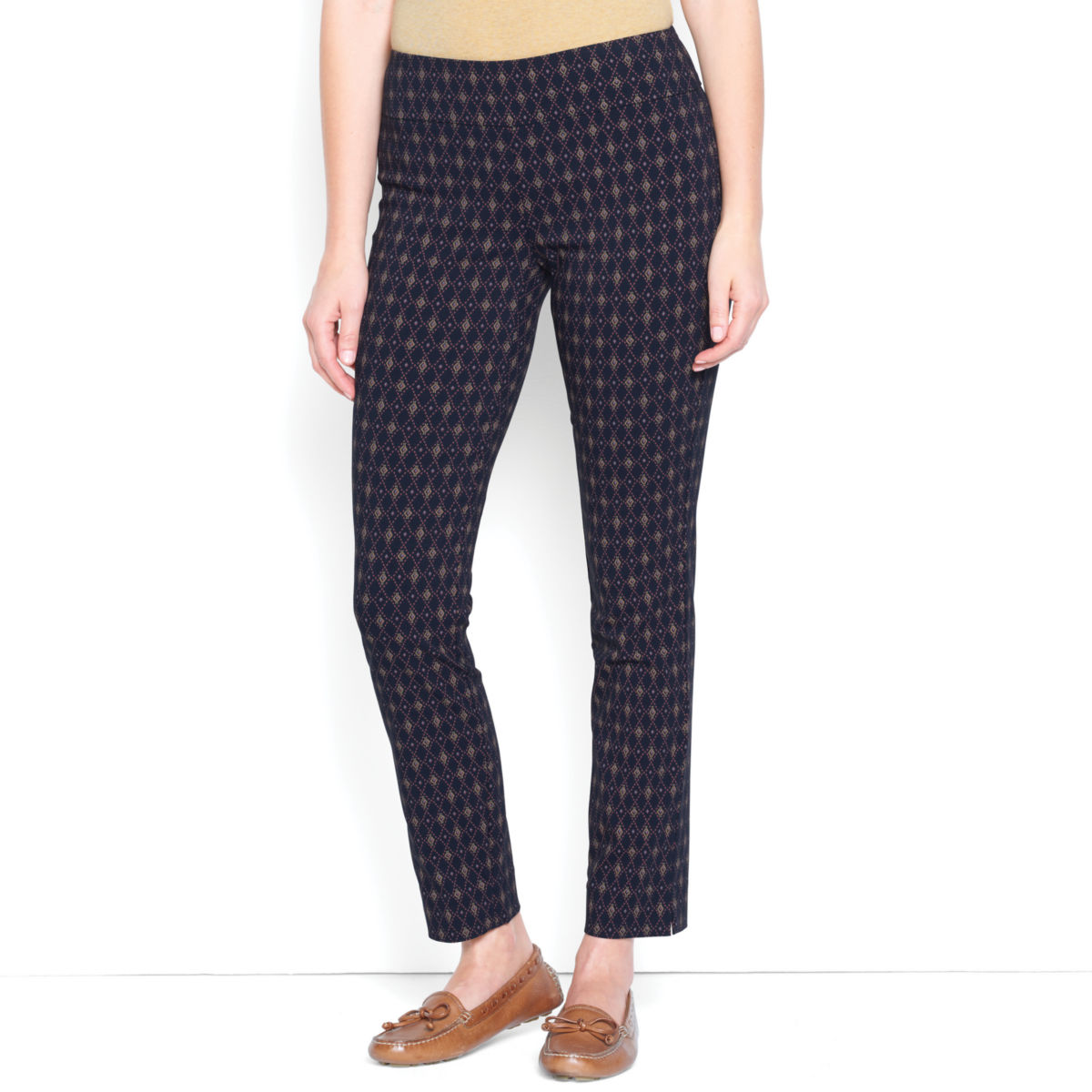 Slim Stretch Ankle Pants - image number 0