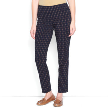 Slim Stretch Ankle Pants -