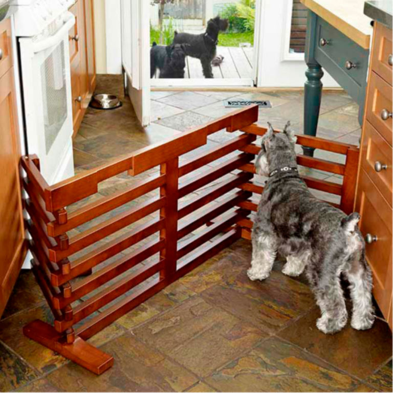 Fold-Up Dog Gate -  image number 4