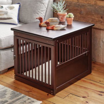 Wooden End-Table Crate -  image number 1