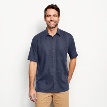 Hemp/Tencel®  Short-Sleeved Shirt -  image number 1
