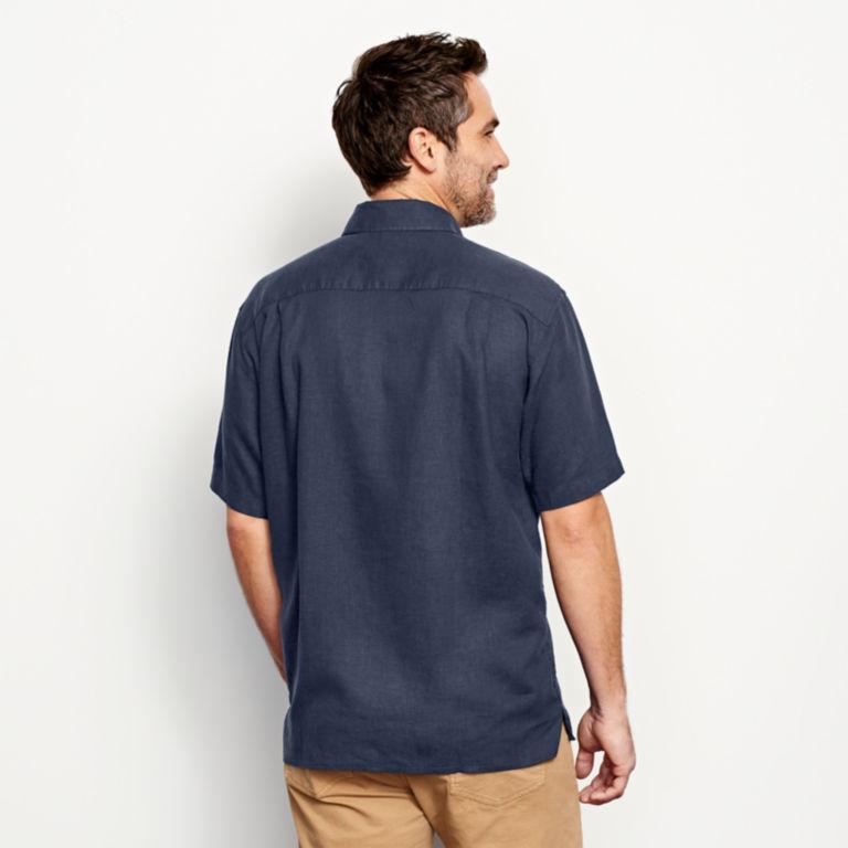 Hemp/Tencel®  Short-Sleeved Shirt -  image number 3