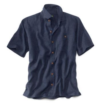 Hemp/Tencel®  Short-Sleeved Shirt -  image number 0