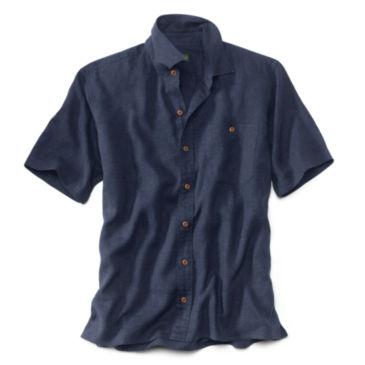 Hemp/Tencel®  Short-Sleeved Shirt - Regular -