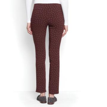 Slim Stretch Print Ankle Pants -  image number 1