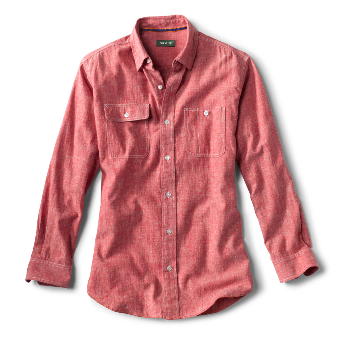 Hemp/Organic Cotton Chambray Shirt - image number 0