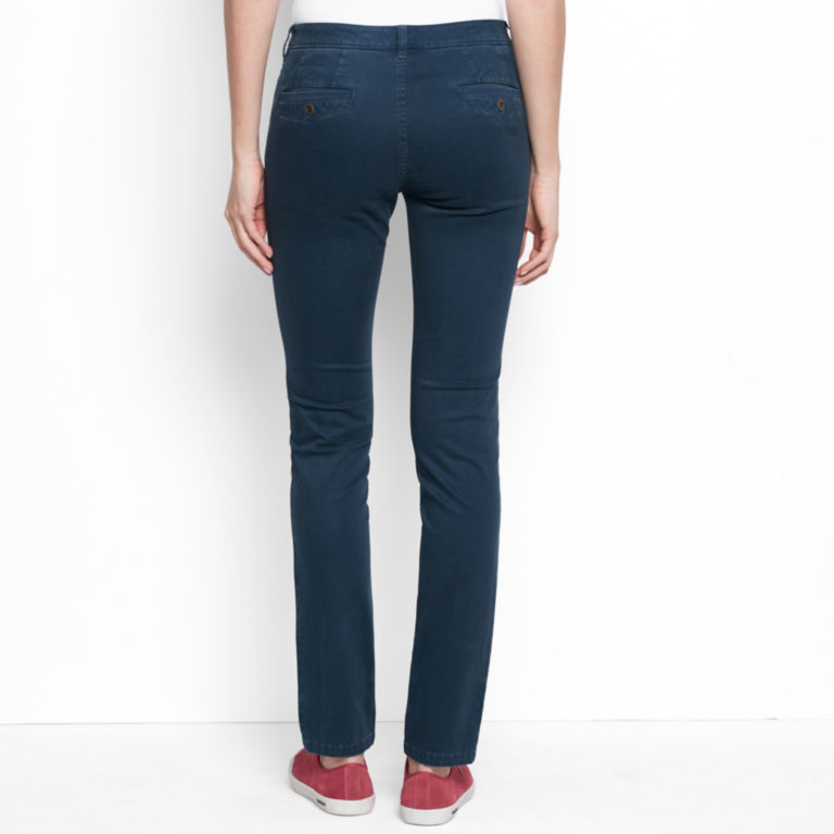 Sueded Stretch Chinos -  image number 2