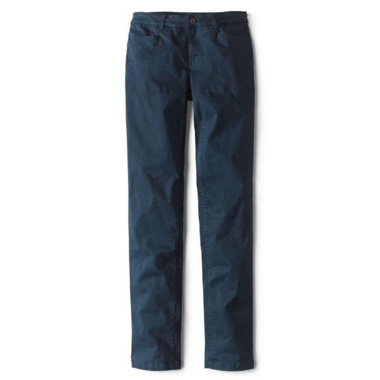 Sueded Stretch Chinos -  image number 3