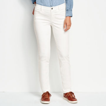 Sueded Stretch Chinos -  image number 0