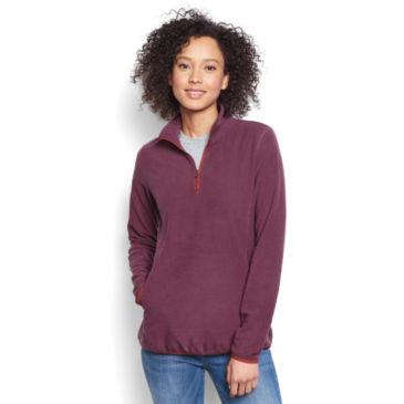 Women's Quarter-Zip Microgrid Fleece -