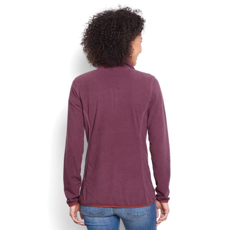 Women's Quarter-Zip Microgrid Fleece -  image number 2