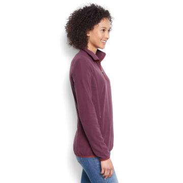 Women's Quarter-Zip Microgrid Fleece -  image number 1