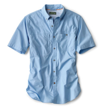 Short-Sleeved Cotton Featherweight Shooting Shirt - NAVY image number 0