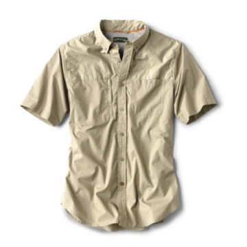 Short-Sleeved Cotton Featherweight Shooting Shirt -  image number 0