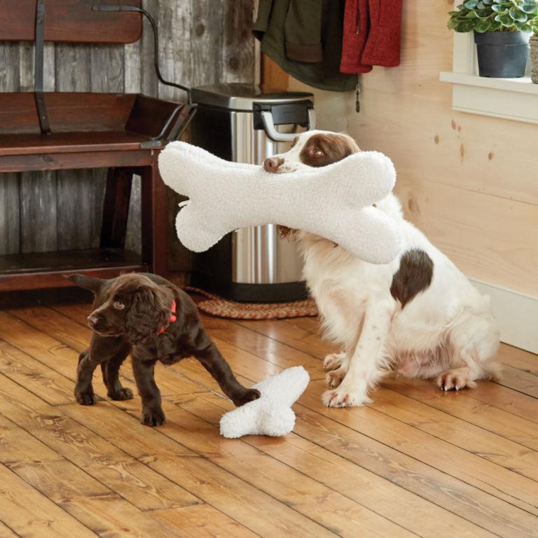 Fleece Dog Bone -  image number 1