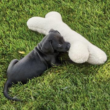 Fleece Dog Bone -  image number 2