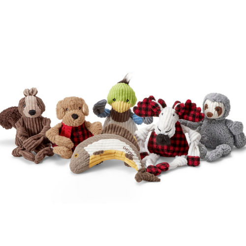 Dog toy collection