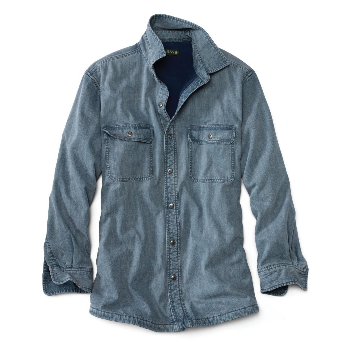 Lined Teton Denim Shirt - DENIMimage number 0