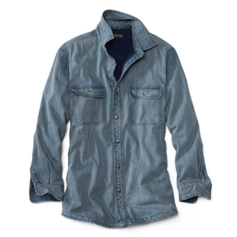 Lined Teton Denim Shirt - DENIM image number 0