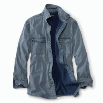 Lined Teton Denim Shirt - DENIM image number 1