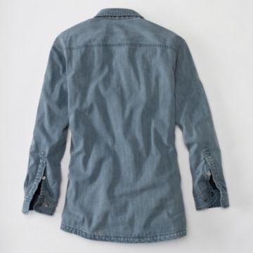 Lined Teton Denim Shirt - DENIM image number 2
