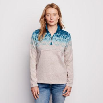 Snow River Sweater Fleece Quarter-Zip -  image number 0