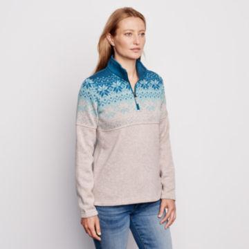 Snow River Sweater Fleece Quarter-Zip -  image number 2