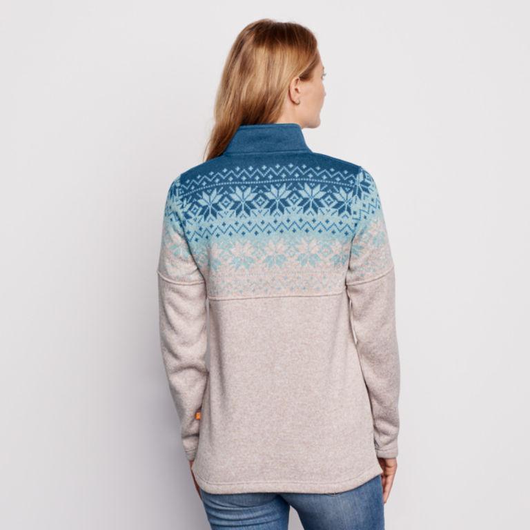 Snow River Sweater Fleece Quarter-Zip -  image number 1