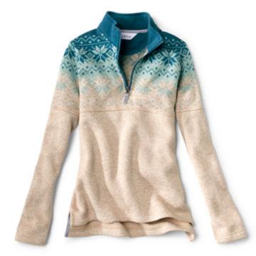Snow River Sweater Fleece Quarter-Zip -  image number 3