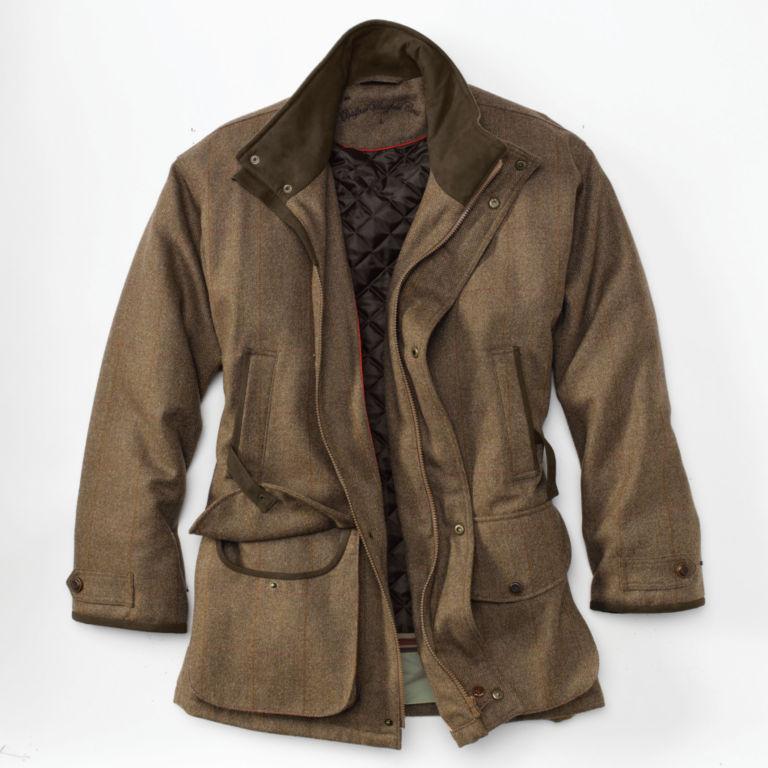 Tweed Wingfield Coat - FIRLE image number 1