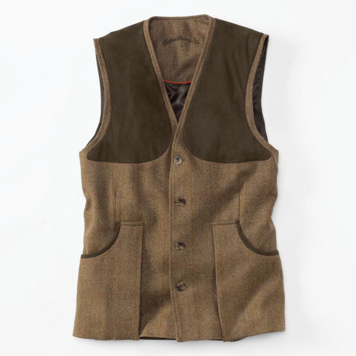 Laksen Tweed Shooting Vest - FIRLEimage number 0