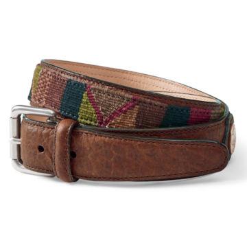Guatemalan Buffalo Nickel Belt - BROWN image number 0
