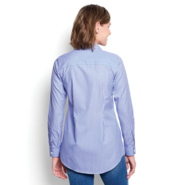 Wrinkle-Free Patterned Tunic -  image number 2